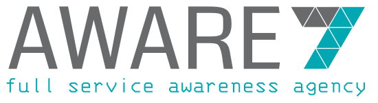 aware7 - full service awareness agency Logo